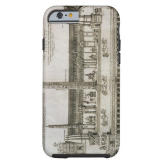 Plan of the Circus Maximus, Rome, engraved by the Tough iPhone 6 Case