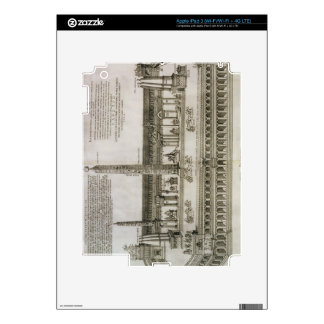 Plan of the Circus Maximus, Rome, engraved by the iPad 3 Skin