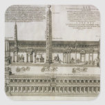 Plan of the Circus Maximus, Rome, engraved by the Square Stickers