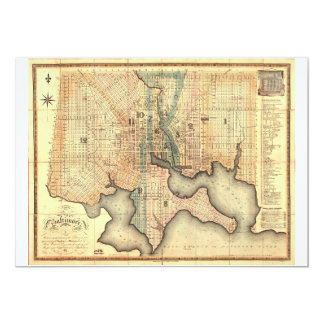 Plan of the City of Baltimore Maryland Map (1822) Card