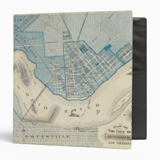 Plan of the City of Jeffersonville and vicinity Vinyl Binder