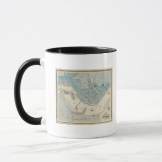 Plan of the City of Jeffersonville and vicinity Mug