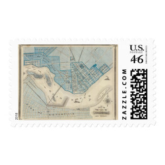 Plan of the City of Jeffersonville and vicinity Stamps