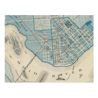 Plan of the City of Jeffersonville and vicinity Postcard