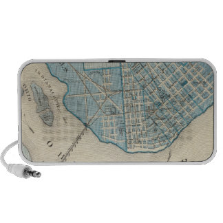 Plan of the City of Jeffersonville and vicinity Portable Speakers