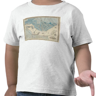Plan of the City of Jeffersonville and vicinity Tee Shirt