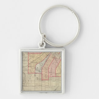 Plan of the City of Minneapolis and Vicinity Keychain
