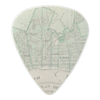 Plan of the City of New Albany, Floyd Co, Indiana Acetal Guitar Pick