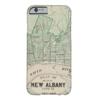 Plan of the City of New Albany, Floyd Co, Indiana Barely There iPhone 6 Case