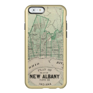 Plan of the City of New Albany, Floyd Co, Indiana Incipio Feather Shine iPhone 6 Case