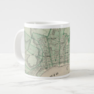 Plan of the City of New Albany, Floyd Co, Indiana Large Coffee Mug