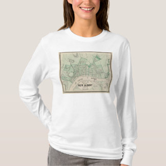 Plan of the City of New Albany, Floyd Co, Indiana T-Shirt