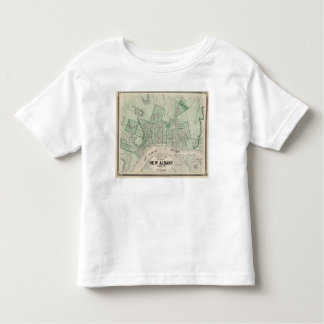 Plan of the City of New Albany, Floyd Co, Indiana Toddler T-shirt