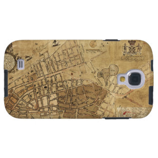 Plan of the City of New York Map (1755) Galaxy S4 Case