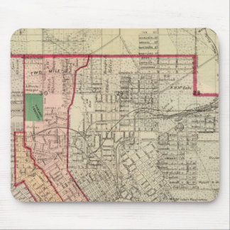 Plan of the City of St. Paul and Vicinity Mousepads