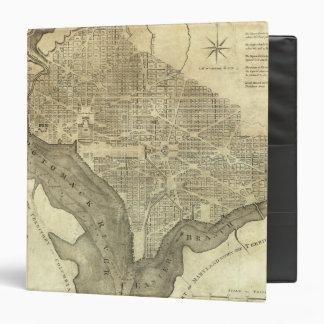 Plan of the City of Washington Binders
