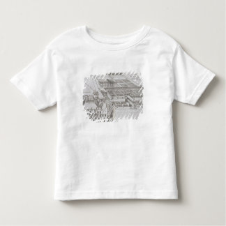 Plan of the enclosed gardens and Chateau de Gaillo Toddler T-shirt