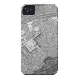 Plan of the existing factories in the Villa Adrian iPhone 4 Case-Mate Case