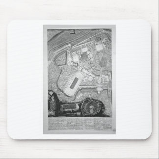 Plan of the existing factories in the Villa Adrian Mouse Pad