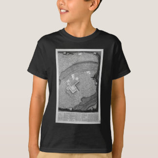 Plan of the existing factories in the Villa Adrian T-Shirt
