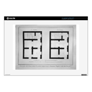 """Plan of the first and second floor of that museum skins for 15"""" laptops"""