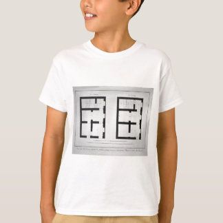 Plan of the first and second floor of that museum T-Shirt