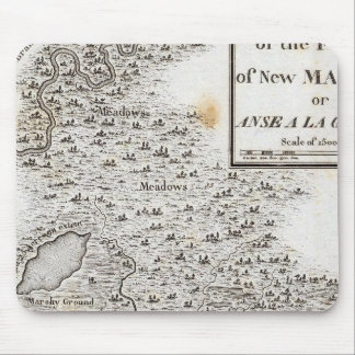 Plan of the Fort of New Madrid Mousepad