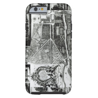 Plan of the Garden and View of the Houses at Chisw iPhone 6 Case