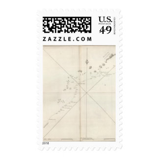 Plan of the Islands or Archipellago of Corea Postage