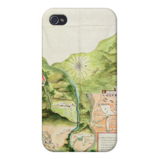 Plan of the Mines of Oaxaca, Mexico, 1785-87 iPhone 4/4S Covers