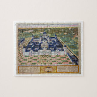 Plan of the Monastery of El Escorial, from 'Civita Jigsaw Puzzle