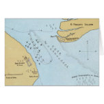 Plan of the Naval Attack And Capture of Port Royal Greeting Card