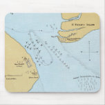 Plan of the Naval Attack And Capture of Port Royal Mousepads