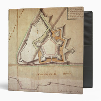 Plan of the New Fort at Pittsburgh 3 Ring Binder