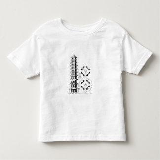 Plan of the Pagoda at Kew, from 'Jardins Anglo-Chi Toddler T-shirt