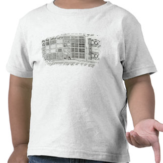 Plan of the Palace and Garden Tee Shirt