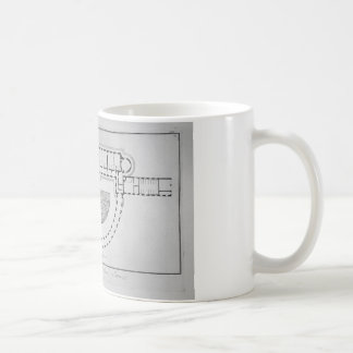 Plan of the Palace of Sans-Souci by Giovanni Coffee Mug