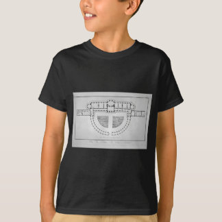 Plan of the Palace of Sans-Souci by Giovanni T-Shirt