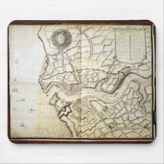 Plan of the Port and Arsenal of Brest, 1676 Mouse Pad
