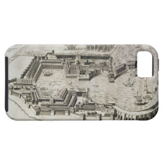 Plan of the port of Ostia Antica, engraved by the iPhone SE/5/5s Case