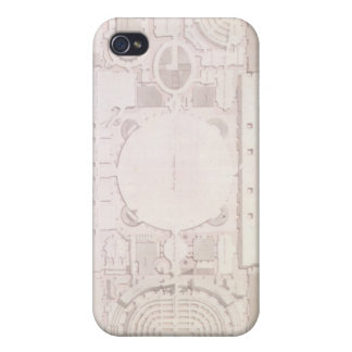 Plan of the Principal Story of the Capitol, iPhone 4 Cover