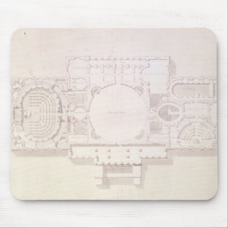 Plan of the Principal Story of the Capitol, Mouse Pad