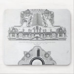 Plan of the roof of St.Peter's Mouse Pad