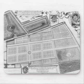 Plan of the Royal Garden Mouse Pad