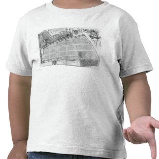 Plan of the Royal Garden T Shirts
