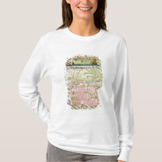 Plan of the town of La Rochelle, 1736 T-Shirt