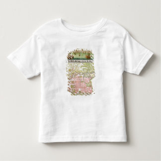 Plan of the town of La Rochelle, 1736 Toddler T-shirt