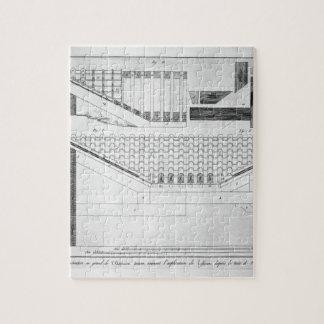 Plan of Tuscan atrium of the Cavedio house Jigsaw Puzzle