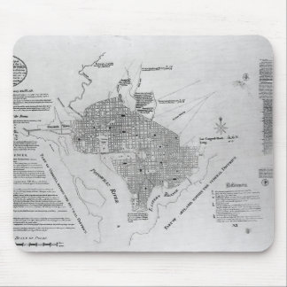 Plan of Washington D.C. Mouse Pad