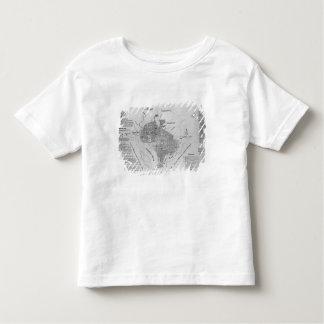 Plan of Washington D.C. Toddler T-shirt